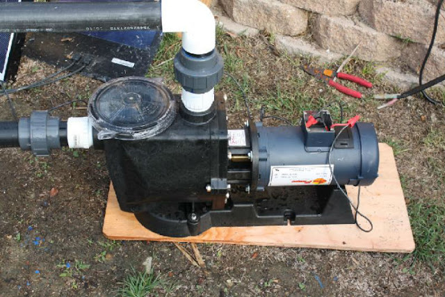 swimming pool pump motor problems