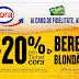Ai card de fidelitate, ai -20% prin Tichet cora la Bere Blonda!