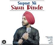 Supne Ni Saun Dinde  Prabh Bains Lyrics