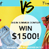 SheIn Summer Contest $1500 Giveaway
