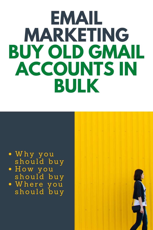 Buy Old Gmail Accounts in Bulk
