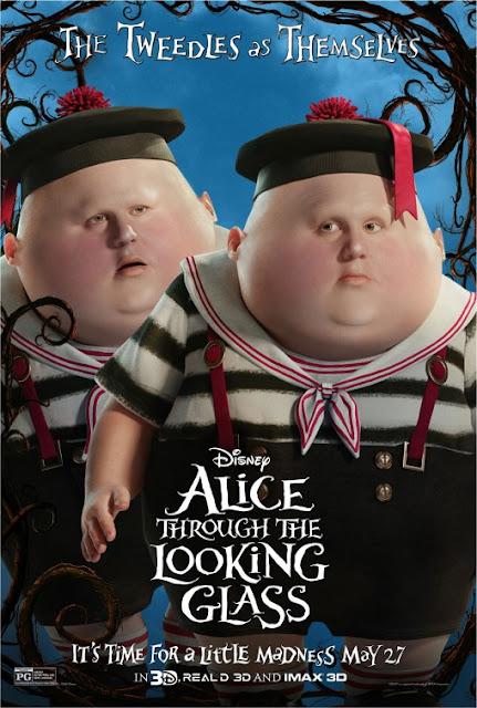 Nuevos pósters de personajes de 'Alicia a través del espejo'