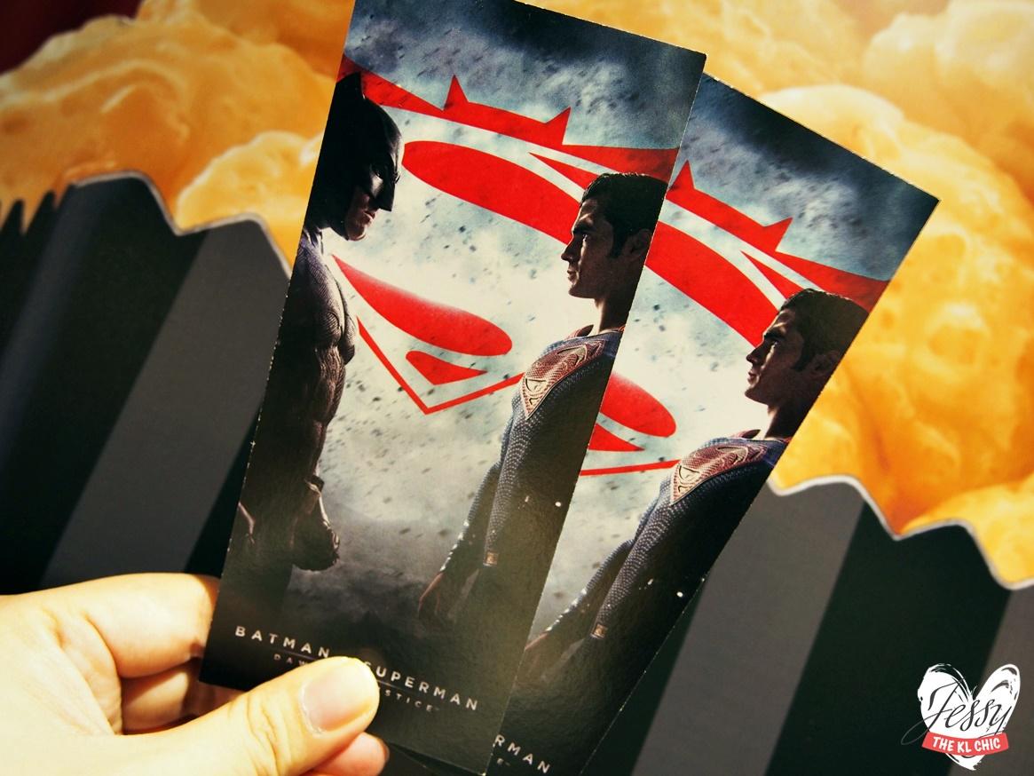 Perfecto Popcorn Date with Batman V Superman