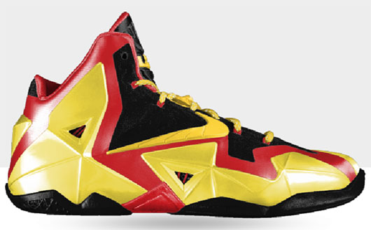 Yellowmenace basketball shoes - Nike iD Lebron 11