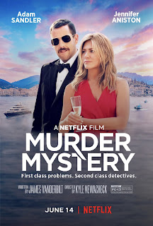 Murder Mystery (2019) Dual Audio Hindi Full Movie HDRip 1080p | 720p | 480p | 300Mb | 700Mb | ESUB | {Hindi+English}