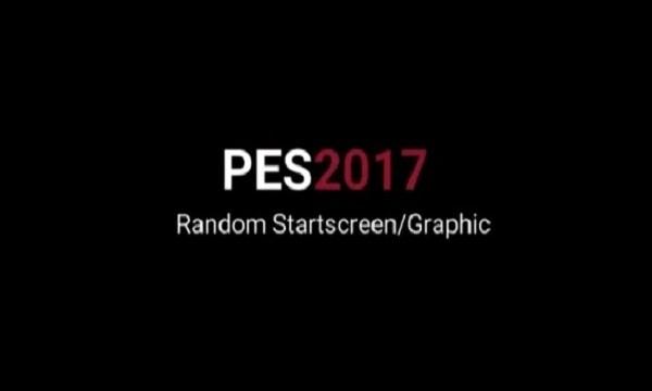 PES 2017 Random Graphic Menu Like PES 2021