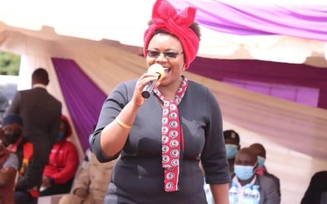 Kiambu Woman Representative Gathoni Wamuchomba