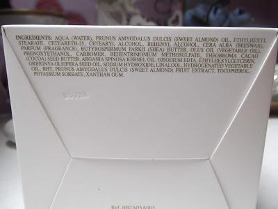 Pupa Milano Maslový krém Almond Milk a kvety zloženie