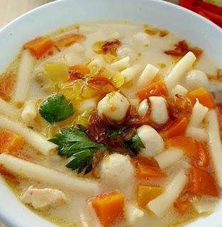 Makanan Khas Banjarmasin - Soto Mutiara