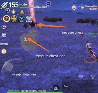 Blade and Soul Revolution  Golden Treasure Chest . Reward