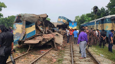 16 Dead, 60 Injured In Train Accident In Bangladesh