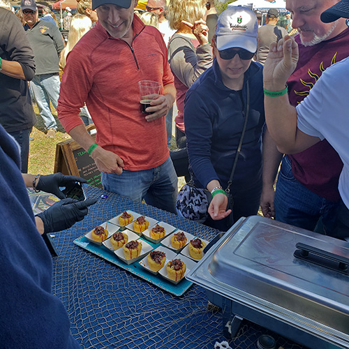 2020 Chain of Lakes Eggfest food festival for Big Green Egg