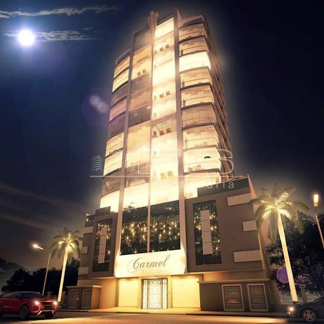 ENC: 1171 - Carmel Residence - Apartamento 3 suítes - Quadra do Mar - Meia Praia - Itapema/SC