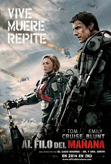 Al filo del mañana (Edge of Tomorrow) poster español