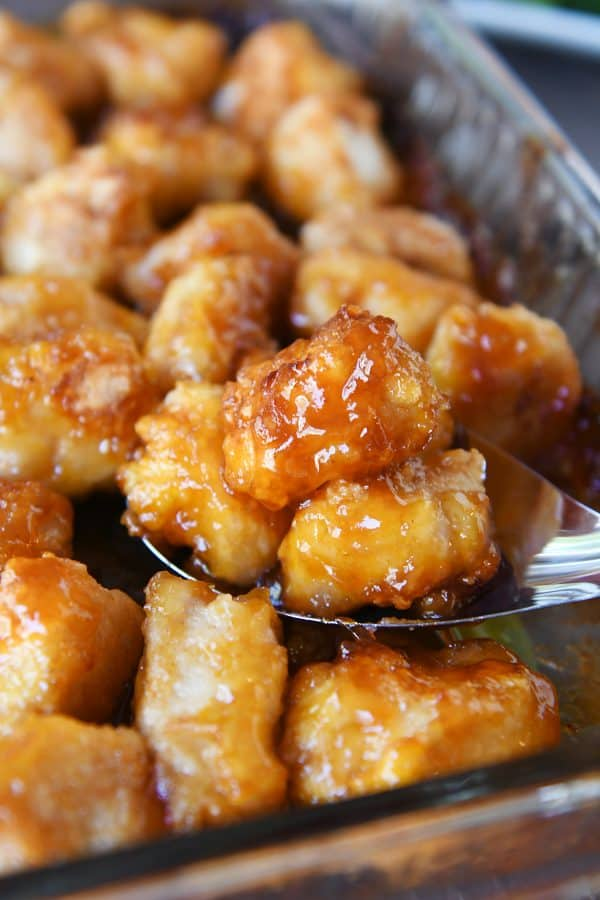 Sweet and Sour Chicken {Baked}