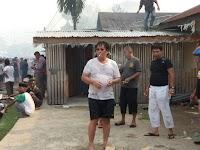 """""""JN"""" Ketua Yayasan Budi Luhur Ikut Padamkan Api"""