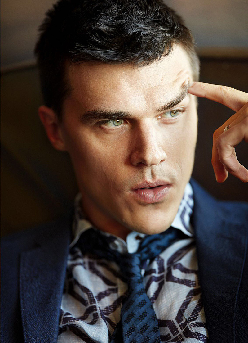 Finn Wittrock : Esquire - February 2017 by Alexei Hay
