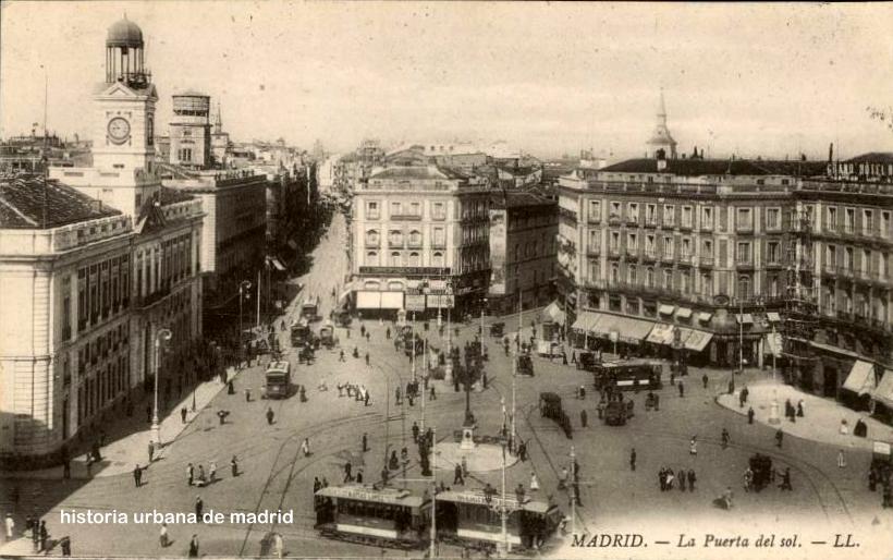Historia urbana de madrid madrid 18 de junio de 1913 for Puerta del sol historia