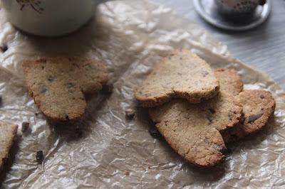 Sablés gingembre et pépites de chocolat