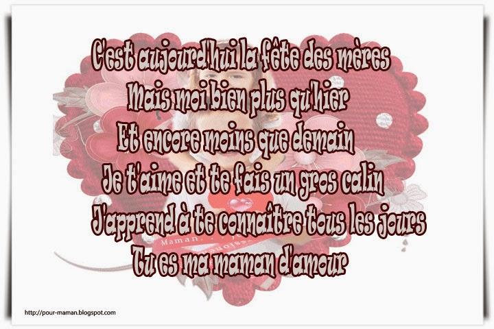 Très SMS pour souhaiter bon fête maman – fête des mères | Amourissima  WC21
