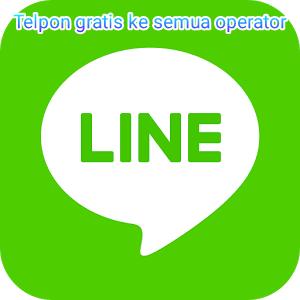 Cara telpon gratis ke semua operator di android dengan line
