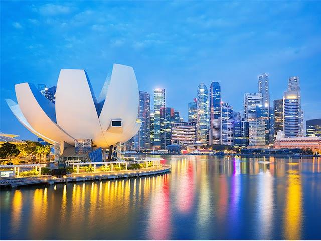 The unique architectures in Singapore