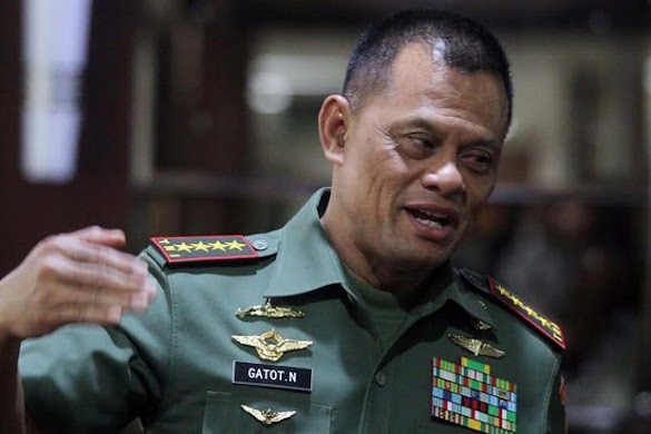 Eks Panglima TNI Gatot Nurmantyo Daftar Capres ke Gerindra