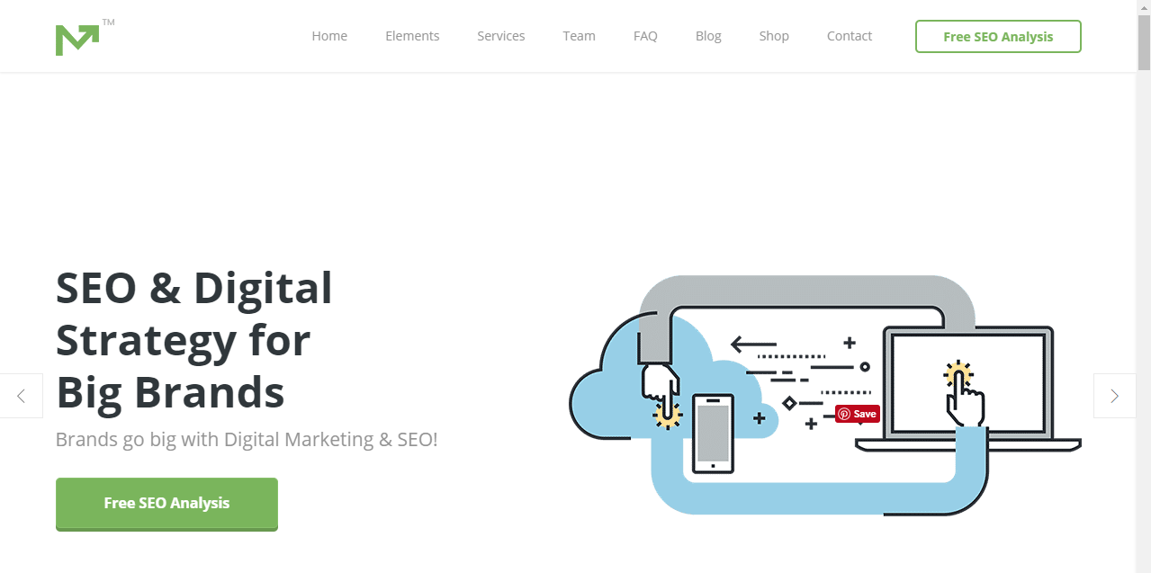Marketing pro SEO optimized theme