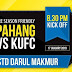 Live Streaming Pahang vs Kelantan United FC 17.1.2019 Friendly Match