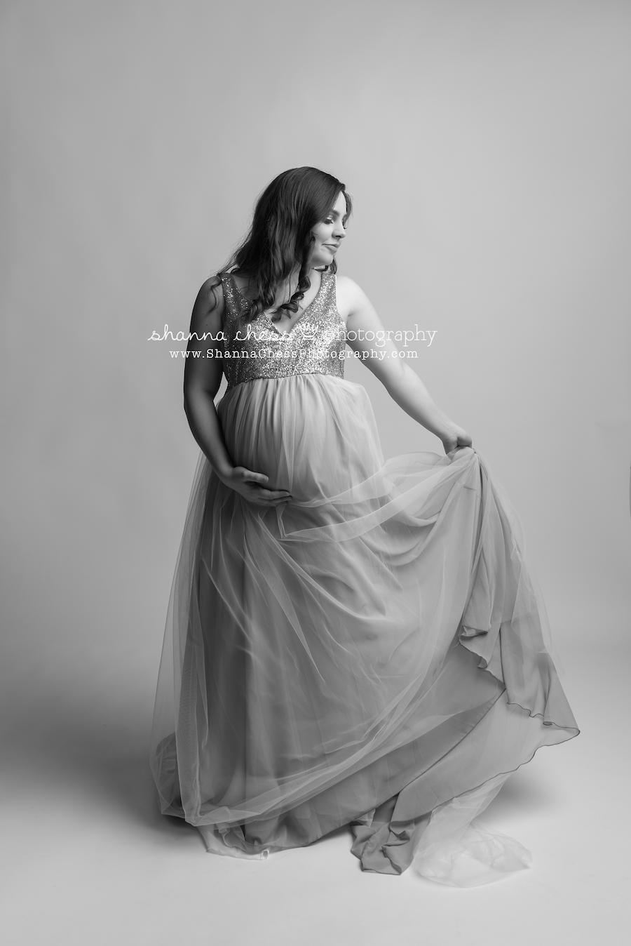 eugene oregon studio maternity photography