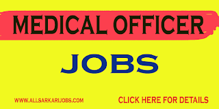 Medical Officer Recruitment - Government of   Andhra Pradesh