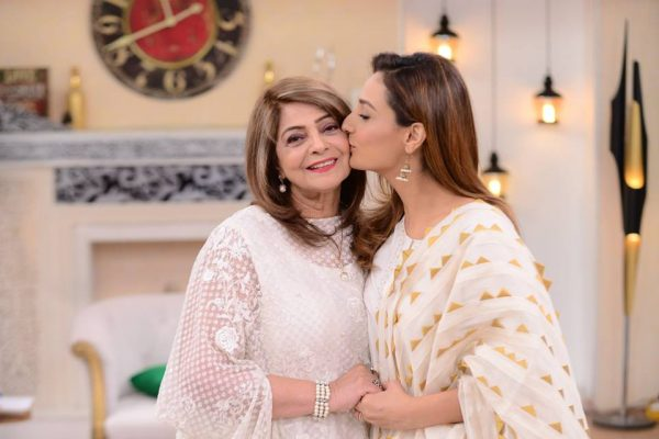 Famous Showbiz Stars with Their Mothers
