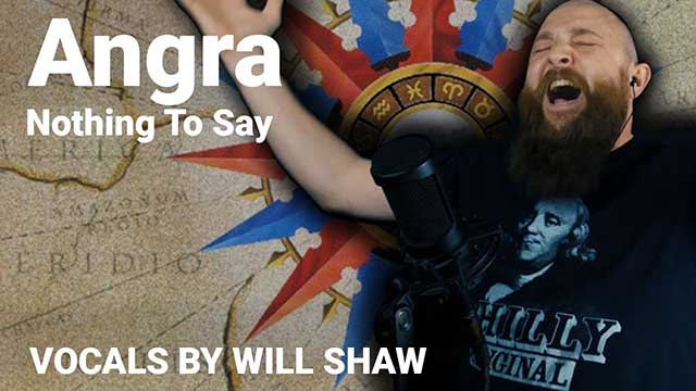 Angra - Nothing To Say (LIVE Vocals by Will Shaw)