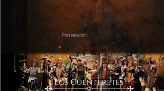 """Presentación con Letra comparsa """"Los cuenteretes"""" de Jose Luís Bustelo (2014)"""