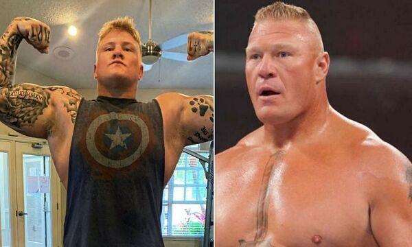 شبيه بروك ليسنر يوقع مع WWE