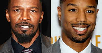 Jamie Foxx and Michael B. Jordan