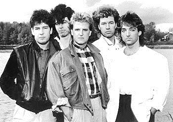 Glass Tiger Sam Reid - Al Connelly - Alan Frew - Wayne Parker - Michael Hanson