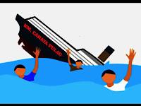 Hendak Bertugas Dipulau Terjauh Pangkep, 11 Penumpang KM Cahaya Pulau Tenggelam