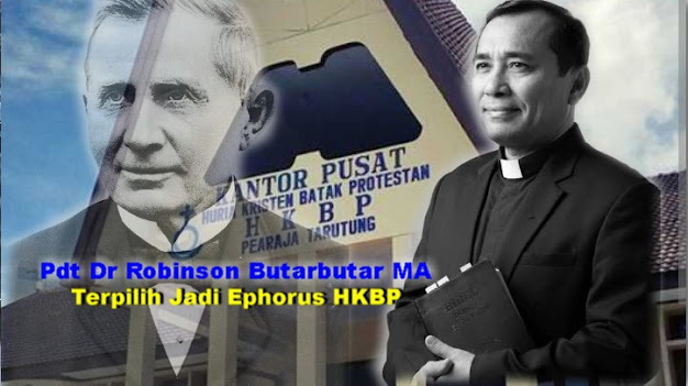 Pdt Dr Robinson Butarbutar MA Ephorus HKBP Terpilih, Ini Profilenya
