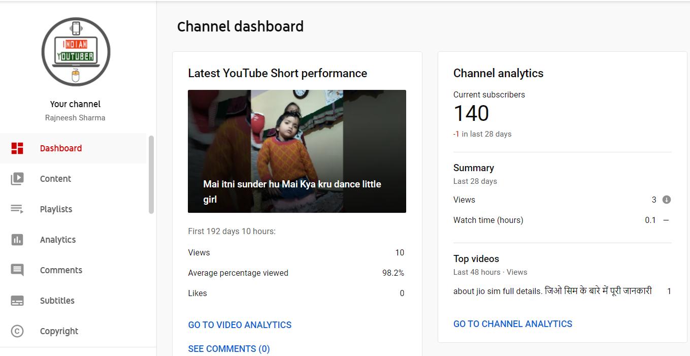 youtube channel ka custom url kaise banaye