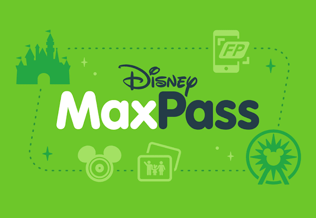 MaxPass Disneyland Logo