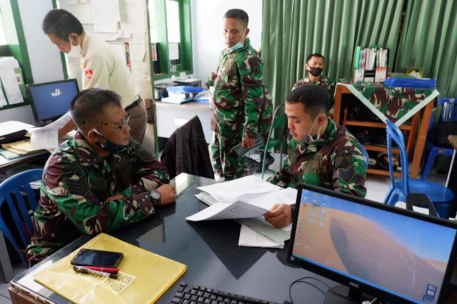 Kodim Karanganyar – Kunjungan Tim Wasgiat Bidang Personel Kodam IV Diponegoro ke Kodim 0727 Karanganyar
