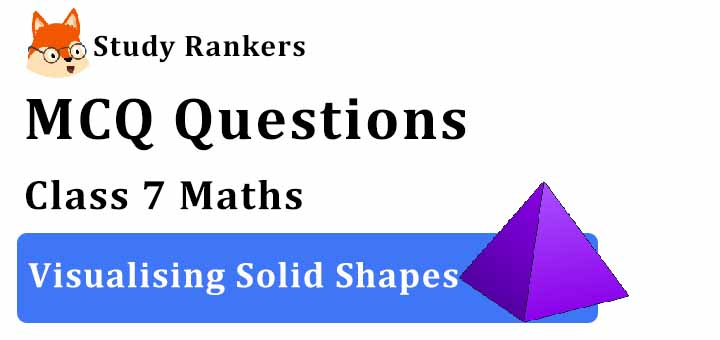MCQ Questions for Class 7 Maths: Ch 15 Visualising Solid Shapes