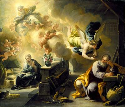 Imagem de São José dormindo, pintura, #1