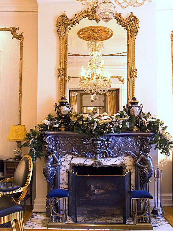 Christmas Decoration Ideas for Fireplace   Ideas for home ...