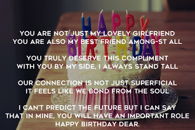 Cute Happy Birthday Poems for Girlfriend