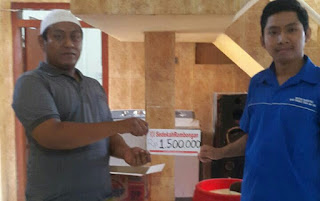 Bersama LPTNU, SR Santuni Anak-Anak Dhuafa