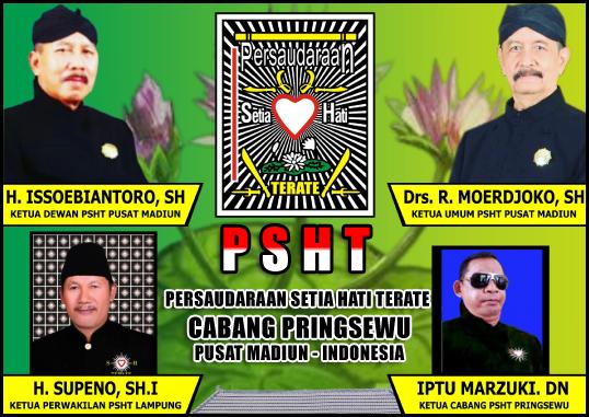 IPTU Marzuki DN (Ketua Cabang PSHT Pringsewu)