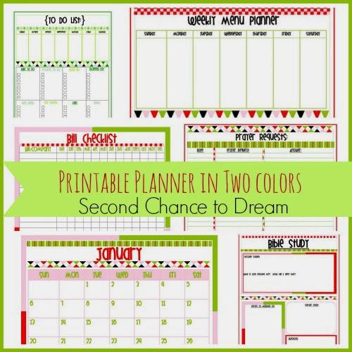 Printable+Planner 11 FREE Organizational Printables 29