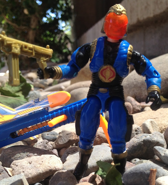1991 Cobra Commander, 2004 Cobra Trooper, TRU Exclusive